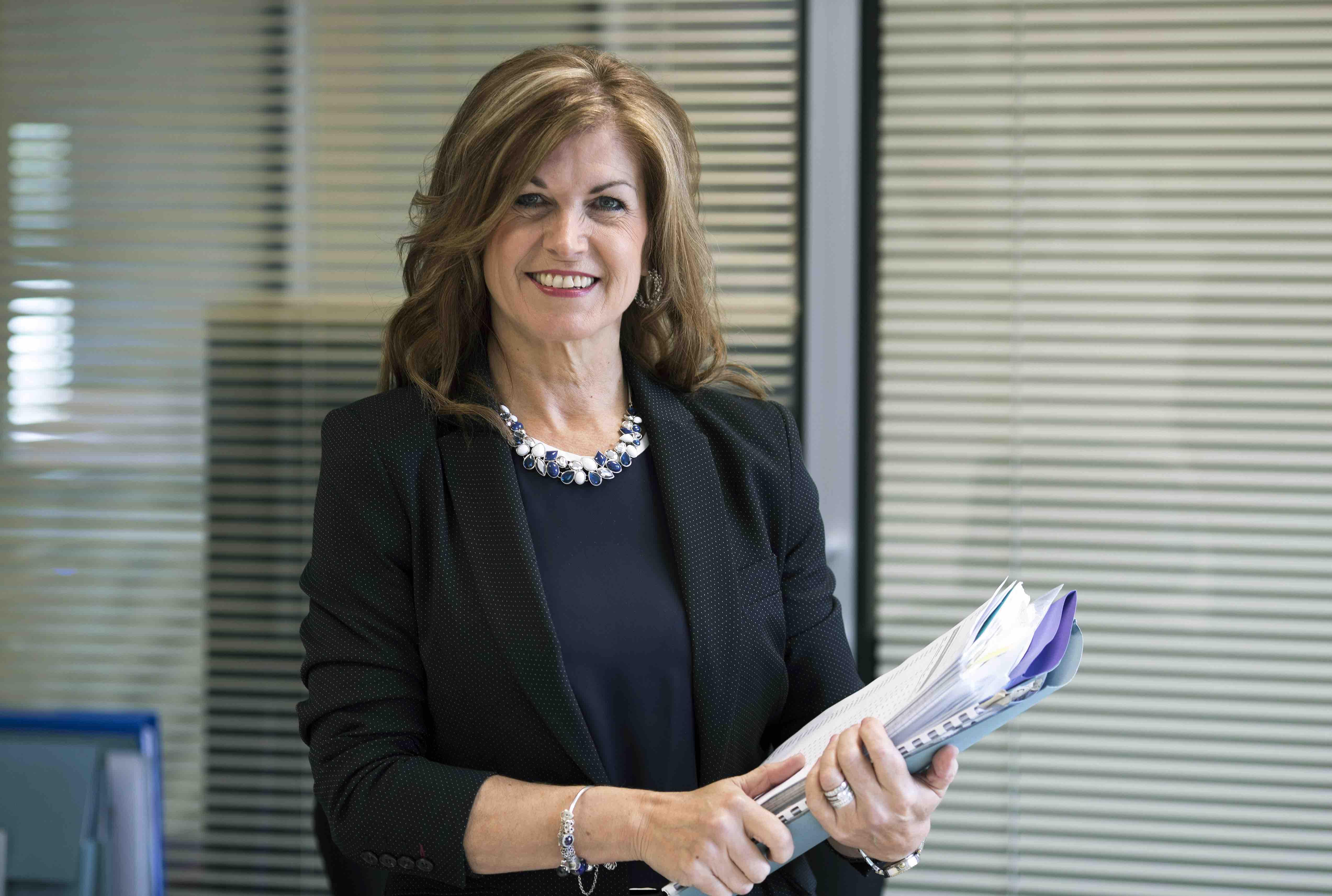 Tina Bonthrone, Group Financial Controller of Castlecroft
