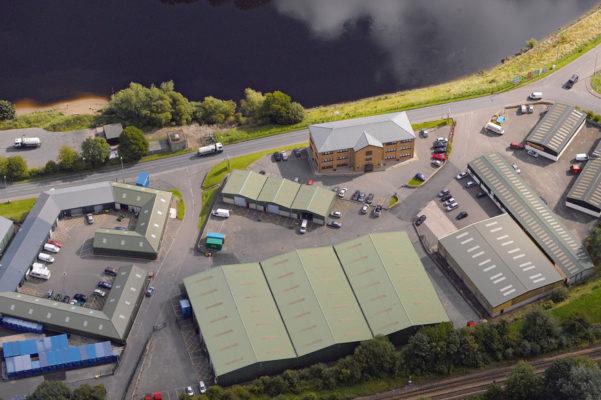 Riverview Business Park aerial image